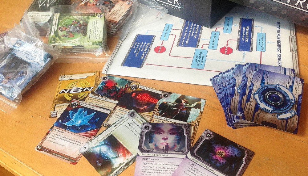 game design rules from android netrunner