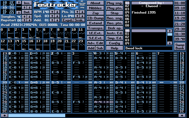 FastTracker II