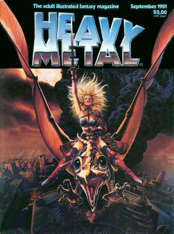 Heavy Metal Magazine Digital Archive