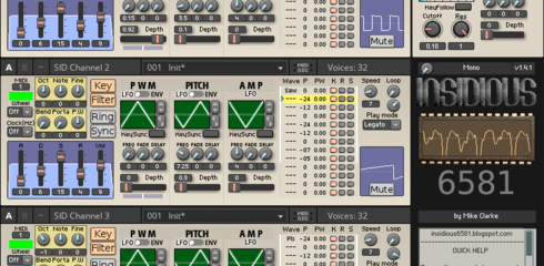 Reaktor Player Insidius 6581