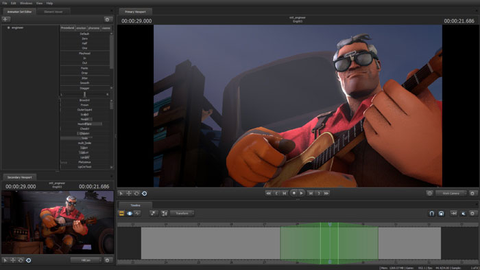how to add fire in sfm