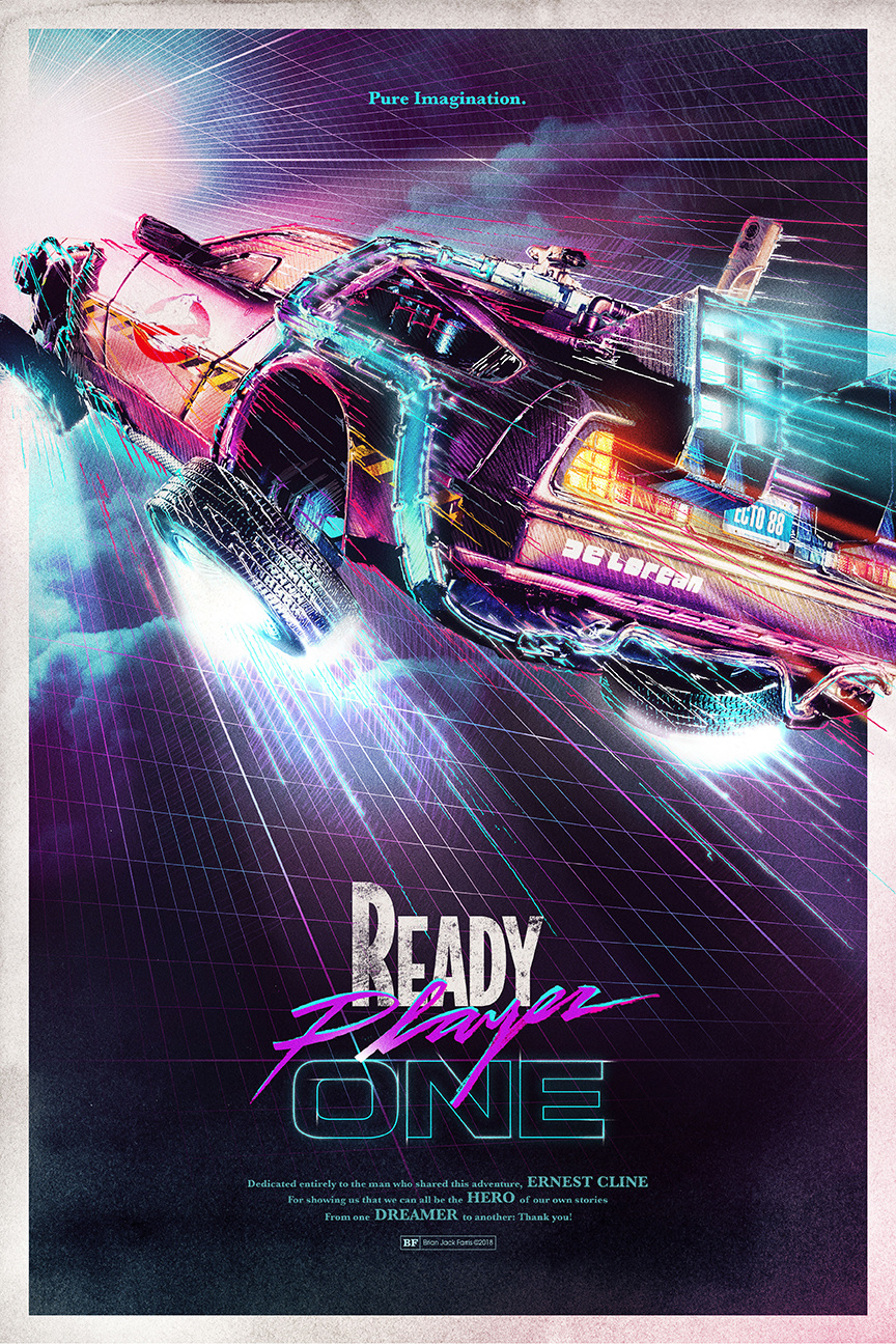 Brian Jack Farris Ready Player One