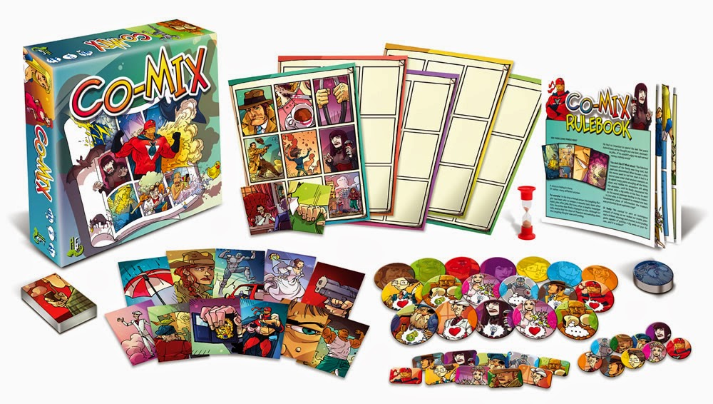 co-mix boardgame