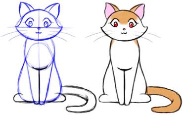 Come Disegnare un Gattino (con Immagini) - wikiHow