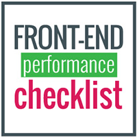 Front End Performance Checklist
