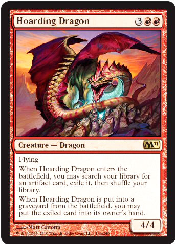 magic the gathering forge hoarding dragon/