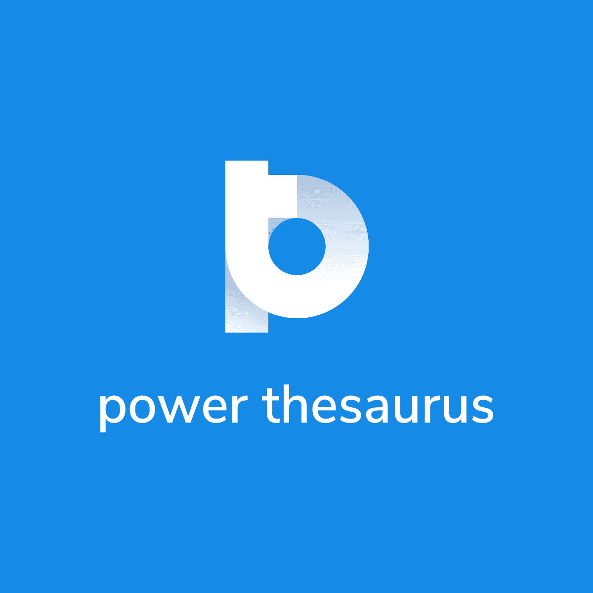 Power Thesaurus