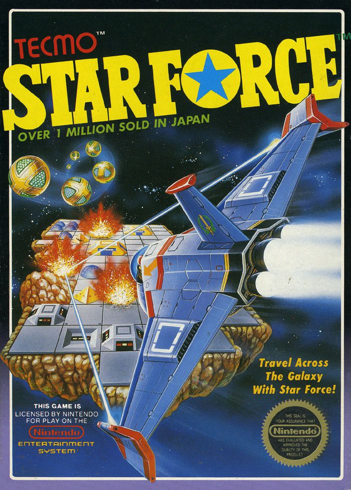 videogame OST and Effects Star Force Tecmo