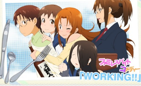 a1 pictures working anime